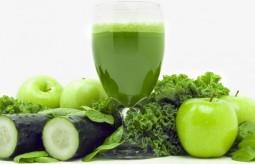 Zielona Żywność na oczyszczenie i odżywienie organizmu