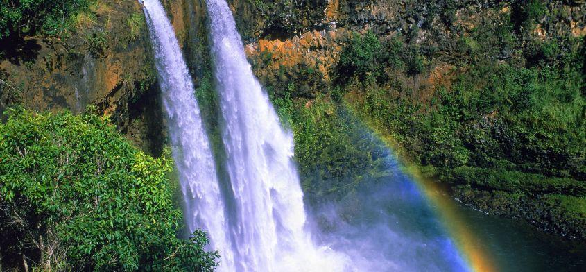 Oczyszczanie energetyczne przy pomocy wizualizacji wodospadu
