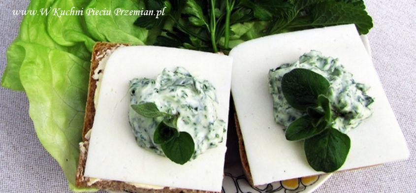 Pasta z natki pietruszki według Pięciu Przemian.