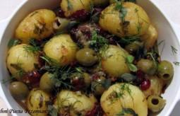Przepis na ziemniaki w ziołach według Pięciu Przemian