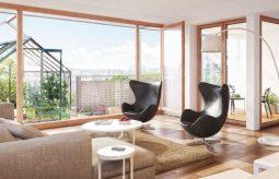 Dom ze szklarniami… na balkonach