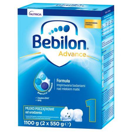 BEBILON 1 Pronutra-Advance Mleko początkowe od urodzenia 1.1 kg